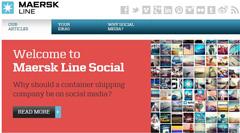 Maersk Line social media strategy
