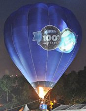 100th anniversary celebrations Oreo cookies Daily Twist campaign in Malaysia hot air balloon rides