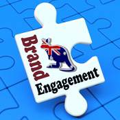 Australian consumers engaging with brands via social media