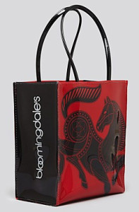 Bloomingdales Tote bag Chinese New Year 2014