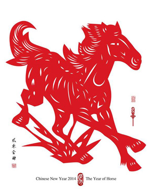 CNY Year of the Horse celebrations Asia Pacific China Weibo goodwill messages MavSocial