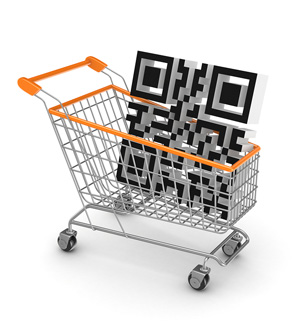 Grocery Shopping with QR Code Mavsocial customize QR Code