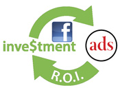 Return on Investment ROI of Facebook ads on Facebook page business owners