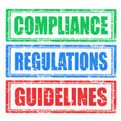 written guidelines for employees about brand engagement compliance regulations