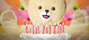 Snuggle Bear birthday