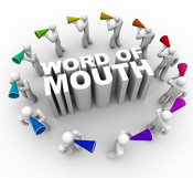 Word of mouth social media marketing