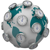 Social Media Publishing Times Geo-location