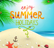 enjoy summer holidays social media campaigns