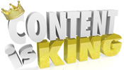 Content is king on the internet social media Google+ strategy