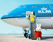 KLM social media campaign targeted at the Chinese market Miffy