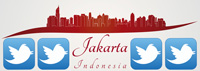 Jakarta has highest percentage of total posted tweets Twitter favorite trends