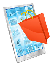 smartphone shoppers mobile marketing strategy for social media brand websites shopping