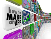 SMEs create a mobile app using free and fee-based app building tools mobile marketing strategy