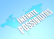 infinite possibilities for business marketing growth
