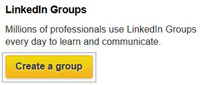 business owner create LinkedIn group to generate new leads via social media network