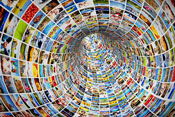tunnel of visual content