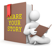 Tell Viewers Your Story interesting, creative visuals clips photos videos help in relationship building