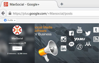 Customize Google+ URL Google+ business page SEO Title MavSocial