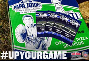 Papa Johns pizza #upyourgame